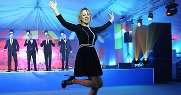 Мария Захарова в мини-юбке.Чрезвычайное происшествие в стране суровых лиц