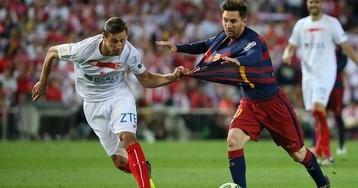 Победа «Барселоны» в Кубке Испании в формате GIF