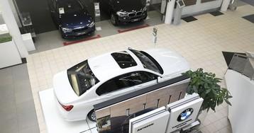 Провал продаж BMW