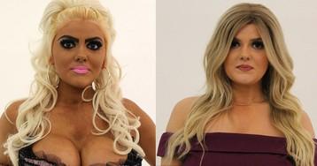 Фанатке Барби, которая поливается автозагаром дважды в день, показали, что такое правильный макияж