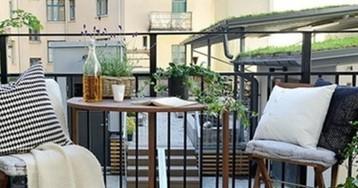 Быстро обустраиваем зону отдыха на балконе: 15 свежих идей