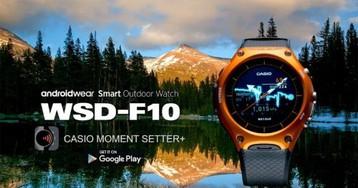 Тест умных часов Casio WSD-F10: детские мечты стали реальностью
