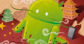 Рынок смартфонов упорно захватывают компании из Китая