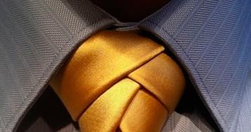 9 способов завязать галстук сногсшибательным узлом!