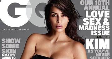 Ким Кардашьян опять за свое: новая откровенная фотосессия для мужского журнала GQ