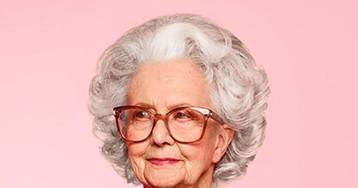100-летняя британка стала моделью Vogue!