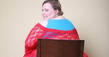 Американка с ожирением получает 2000 долларов за показ своих прелестей по веб-камере