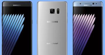 Фаблет Galaxy Note 7 от Samsung на официальных рендерах