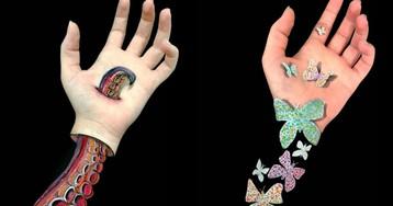 Уберите руки: прекрасные визуальные иллюзии от австралийского художника