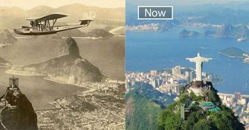 Ветер перемен: знаменитые города с одного ракурса в прошлом и настоящем