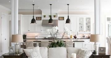 Как обустроить совмещенную с гостиной кухню: необычные проекты интерьера с фото-примерами