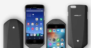 Mesuit – чехол для запуска Android на iPhone