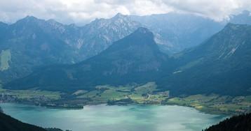 Озеро Вольфгангзе, Австрия