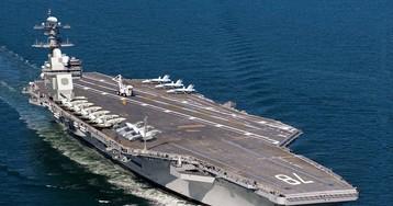 Самый дорогостоящий авианосец США признали непригодным к бою