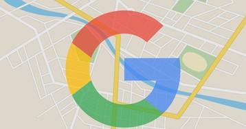 Дизайн сервиса Google Maps полностью обновился
