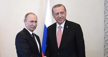 Соцсети высмеяли внезапную дружбу Путина с «пособником террористов» Эрдоганом