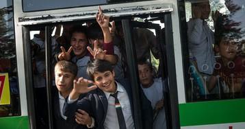 Общественный транспорт в Душанбе