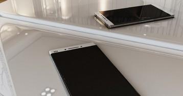 Mi Note 2 от Xiaomi крупным планом на рендерах