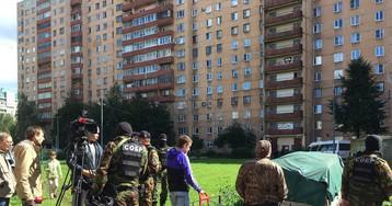 Трех террористов в Петербурге задержали при взрывах со стрельбой