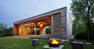 Архитектурный дзен:  дачный домик в Венгрии