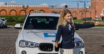 Репортаж БигПикчи: Призерам Олимпиады в Рио вручили ключи от BMW на Красной площади