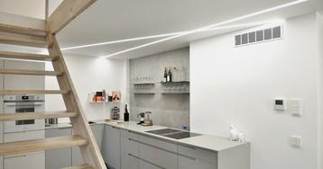 Два этажа в стиле минимализм: квартира в Челябинске