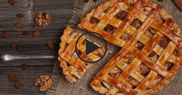 Американский пирог с яблоками