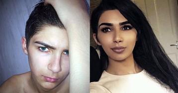Мальчик ушел на каникулы, а вернулся девочкой, похожей на Ким Кардашьян