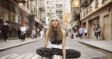 Кара Делевинь в новой рекламной кампании Pumа. При чем здесь Рианна?