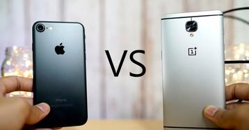 iPhone 7 против OnePlus 3: когда 6 ГБ оперативной памяти не главное
