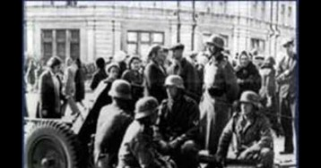 75-я годовщина уничтожения войсками НКВД исторического центра Киева