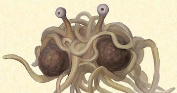 Церковь летающего макаронного монстра собирается бороться за права сперматозоидов