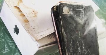 iPhone 7 взорвался. Правда или фейк?