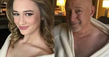 Это гены: остроумный папаша спародировал гламурную фотосессию своей дочери