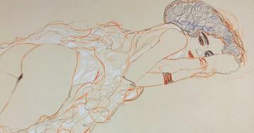 Скандальные эротические рисунки Густава Климта