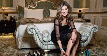 Телеведущая Жанна Бадоева представила свою первую коллекцию обуви