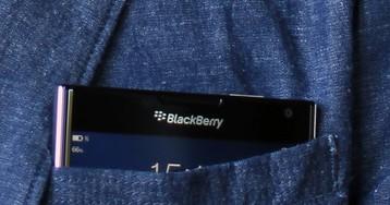 Android-смартфон BlackBerry с QWERTY-клавиатурой попался в бенчмарке