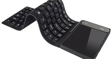 Mini PC da Vensmile inova com teclado de borracha dobrável e touchpad