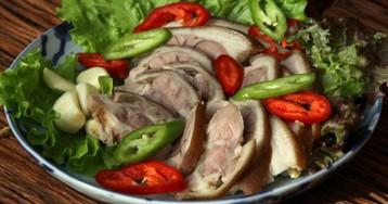 Чокпаль, свиная вареная рулька по-корейски