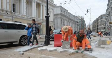 Асфальт в центре Москвы заменят гранитной плиткой за семь миллиардов рублей
