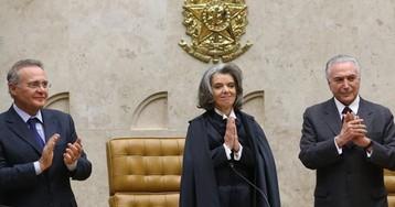 Cármen Lúcia exige respeito, após Renan criticar Lava Jato e juiz