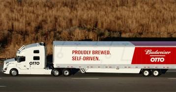 Забитый пивом грузовик проехал 200 км без водителя