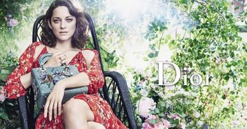 Сад, в котором провел детство Кристиан Диор: съемки новой рекламной кампании