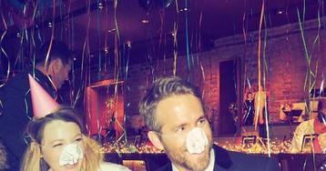 Blake Lively celebra aniversário de Ryan Reynolds e emociona Taylor Swift