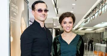 Бероев, Алферова и Шишкова на открытии нового concept-store «Эстель Адони»