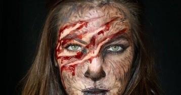 23 потрясающих способа нарядиться на Хеллоуин при помощи одного лишь грима