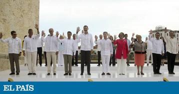 Líderes latino-americanos apoiam processo de paz na Colômbia