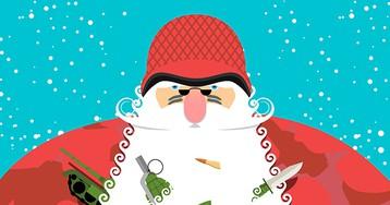 Мальчик первый раз оказался на утреннике. Когда он подошёл к Деду Морозу и задал вопрос, от смеха попадали все!