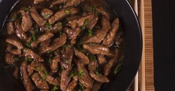 Как быстро приготовить говядину: мясо в соево-имбирном соусе