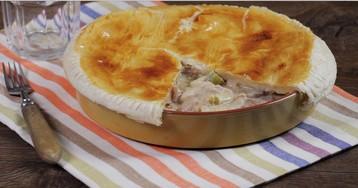 Куриный пирог по рецепту Джейми Оливера